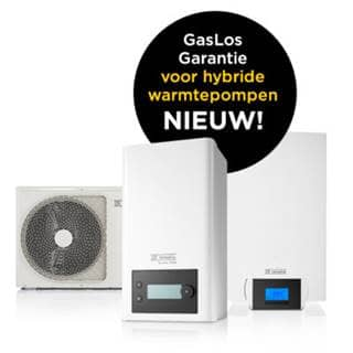 GasLos garantie warmtepompen