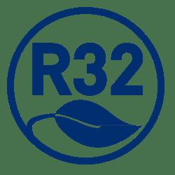 Diva airconditioning Logo R32