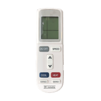 Diva airconditioning remote controle