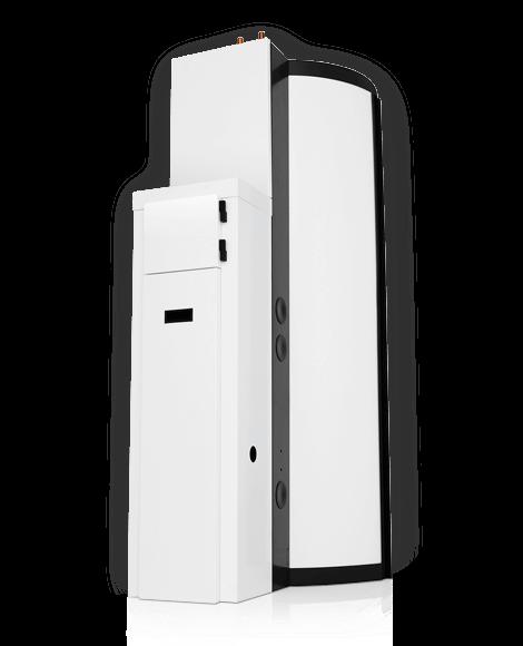 Solar Plus met een boilervat van 390 liter